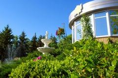 статуя фонтана ангела Стоковое фото RF