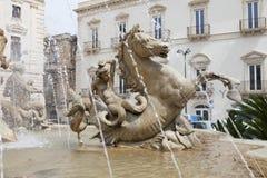 Статуя Фонтаны Стоковые Фото