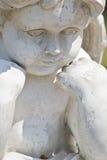 статуя херувима Стоковое Изображение