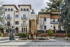 Статуя Хосе Toran, Теруэль Испания Стоковое фото RF