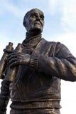 Статуя ходока капитана Frederic Джона на голове пристани в Liverpoo Стоковое Фото