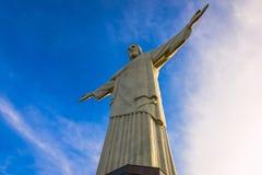 Статуя Христоса спаситель в Рио-де-Жанейро Стоковые Фото