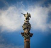 Статуя Христофора Колумба Стоковые Изображения RF