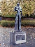 Статуя центуриона - Puurs - Бельгия стоковые изображения rf
