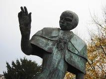 Статуя центуриона - Puurs - Бельгия стоковые фото