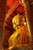 статуя церков Будды Стоковая Фотография