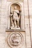 Статуя Чарльза большая на церков Francesi dei Сан Luigi в Риме, Италии стоковое фото rf