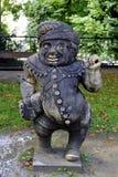 Статуя человека в парке Стоковое фото RF
