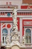 Статуя чумы в квадрате свободы соединение timisoara 02 Румыния квадратное Стоковое Изображение RF