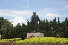 Статуя шагов Дэн Сяопин больших идет в ШЭНЬЧЖЭНЬ Стоковое Изображение RF