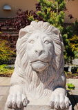 Статуя льва сделанная из бетона Стоковое Изображение RF