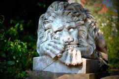 Статуя льва Стоковые Фотографии RF