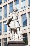 Статуя Энтони фургона Dyck в Антверпене, Бельгии Стоковое Изображение