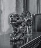 Статуя ягуара Стоковые Фото