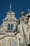Статуя января Frans Willems в Gent Стоковые Фотографии RF