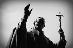 Статуя января Pavel II. Стоковые Изображения RF