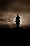 Статуя для того чтобы вспомнить упаденное в войну бура Стоковое Фото