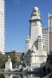 Статуя Дон Quixote на квадрате Испании Стоковое фото RF