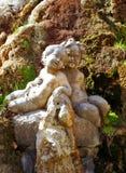 статуя 2 детей Стоковое Изображение