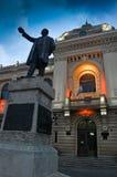 Статуя Alexandru Ioan Cuza Стоковое Фото