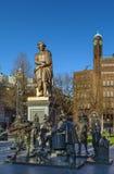 статуя amsterdam rembrandt Стоковые Изображения RF