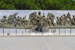Статуя Ataturk в мемориале Canakkale мучеников Canakkale стоковые изображения