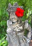 статуя balinese женская традиционная Стоковое Фото