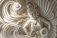 статуя balinese традиционная Тропический остров Бали, Индонезия Стоковое фото RF