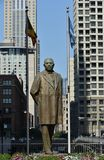 Статуя Benito Juarez Стоковая Фотография RF
