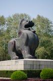 Статуя Bixie от сказания традиционного китайския Стоковые Фото