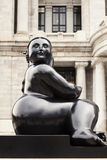 Статуя Botero Мексика Стоковое Изображение