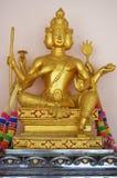 Статуя brahma бога стоковое изображение rf