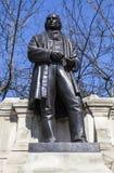 Статуя Brunel королевства Isambard в Лондоне Стоковая Фотография