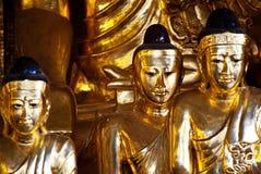 Статуя Buddhas стоковые фотографии rf