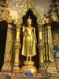 Статуя Budha в виске, Таиланда Стоковая Фотография RF