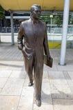 Статуя Cary Grant в Бристоле стоковая фотография rf