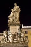 Статуя Cavour в Турине Италии Стоковое Изображение
