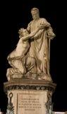 Статуя Cavour в Турине Италии Стоковые Изображения