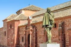 Статуя Cervantes Стоковое фото RF