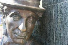 статуя chaplin Чарли Стоковая Фотография