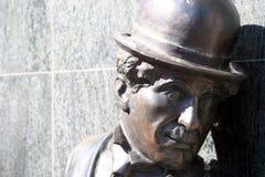 статуя chaplin Чарли Стоковое фото RF