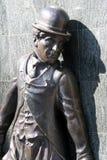 статуя chaplin Чарли Стоковая Фотография RF