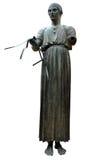 статуя charioteer стоковые фотографии rf