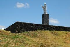 статуя christ Стоковые Изображения