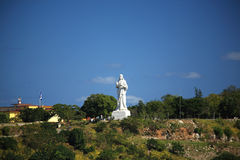 статуя christ havana стоковое фото rf