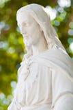 статуя christ jesus мраморная Стоковое Изображение