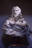 статуя christ jesus мраморная Стоковое Изображение RF