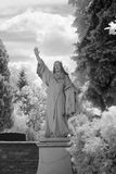 статуя christ jesus Стоковая Фотография