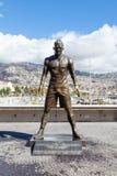 Статуя Christiano Ronaldo Стоковая Фотография