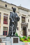Статуя Christopher Columbus - Колумбус, Огайо Стоковое фото RF